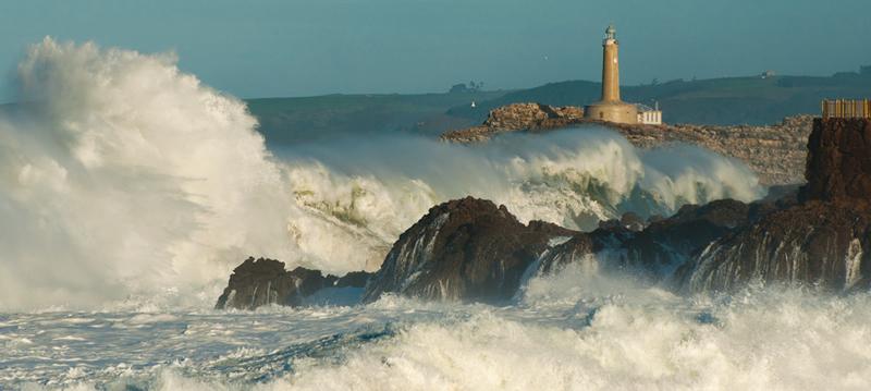temporal olas cornisa cantabrica